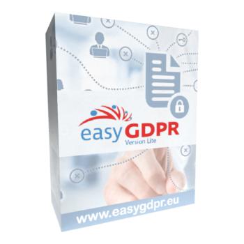 easyGDPR Lite Softwarebox - DSGVO einfach umsetzen