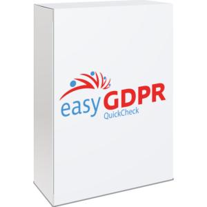 easyGDPR Quickcheck - Erfahren Sie den aktuellen DSGVO Status in ihrer Firma