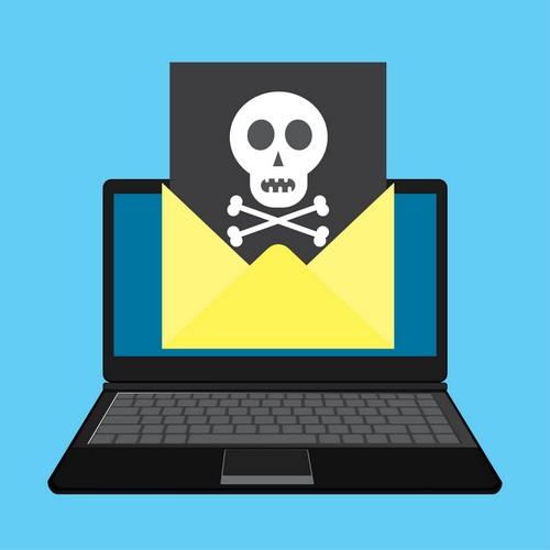Ransomware verbreitet sich oft über fingierte E-Mails