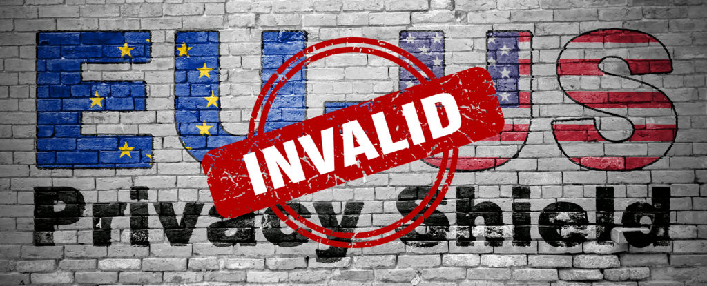 EU-US Privacy Shield Invalid