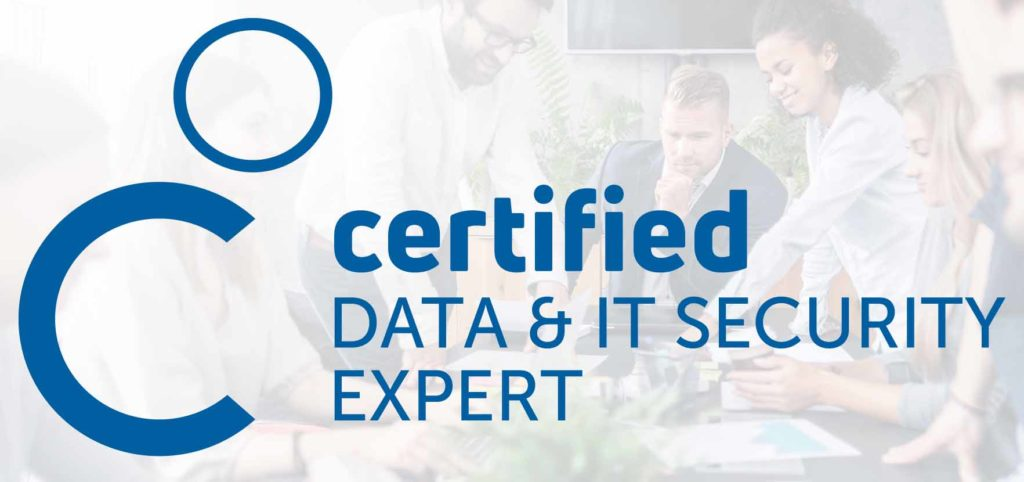 certified data & IT security Expert Team
